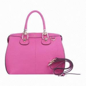 China Red Spring Autumn PU Leather Shoulder Bag Handbags For Ladies Shopping on sale