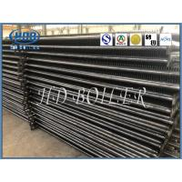 Steel Cold Finished Boiler Fin Tube / H Type Finned Tube Heat Exchanger
