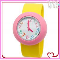 2014 New design animal shape silicone slap watch