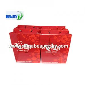 China Best Paper bags for shopping cosmetics on sale