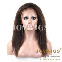 2013 Top fashion Hot sale best quality 100% Brazilian virgin human hair kinky twist wigs
