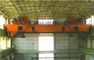 China QD Model double beam overhead crane 150/32T on sale