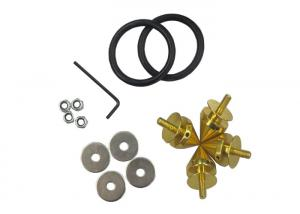 China Billet Aluminum Auto Car Parts With Aluminum Fasteners Nuts Washers O Rings supplier