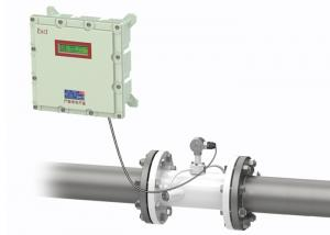 China Explosion Proof Ultrasonic Flow Meter For Water Consumption Measurement UFM-LE on sale