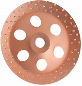 China 115mm Tungsten Carbide Abrasive Disc For Grinding Rubber Concrete Tile Wood And Fabric on sale