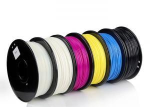 China 3D Printer ABS Plastic Filament 1.75mm / 2.85mm / 3mm Diameter 1kg Product on sale
