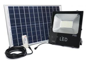 China Solar Power LED Flood Light 10W 20W 30W 50W 100W on sale