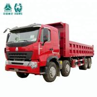 Vehicle Tipper Mining Dump Truck With Pressed Axle Housing 12 Wheels
