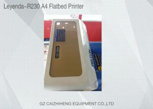 China Multi - Function Small Format UV Flatbed Printer High Precision Espon Printhead on sale