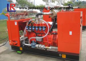 China 37.5kVA 30kw Biogas Natural Gas Generators Set with Water Cooling Noise Attenuation and Ventilation on sale