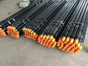 China API 2 3/8  , 2-7/8 , 3-1/2 Down the hole DTH drill rod , DTH pipe ,  with Wrench Flat for mining on sale