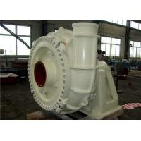 High Chromium Alloy High Head Gravel Pump For Delivering Big Soilds