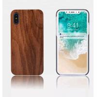 OEM / ODM DIY Wood iPhone Case , PC Plastic Blank Custom Wood Phone Case