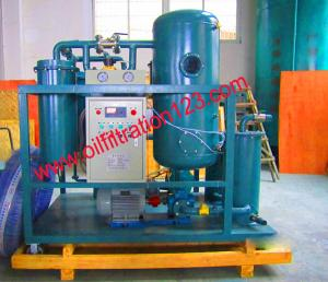 China Turbine Oil Cleaning Systems,Vacuum Turbine Oil Purifier,Used Oil Recondition Systems,clean the oil down to NAS5 on sale