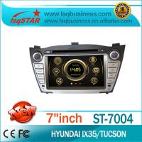 GPS Navigation Hyundai DVD Player With HD Touch Screen