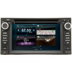 China 2-Din 6.2 Inch Car Multimedia for Toyota Corolla 9/Old RAV4/Old Vios/Hilux/ Land Cruser 4500 on sale