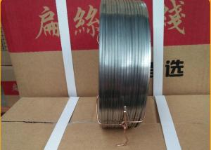 China 10 Galvanized Flat Stitching Wire on sale