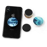 Patent High Definition Logo Metal Inside PopSocket Clip Magnet Car Cell Phone Holder Repeat Paste Hand Stand