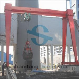 China Sinocrane Hot Sale MHZ Type Gantry Cranewith Grab China Factory Direct Supplied on sale