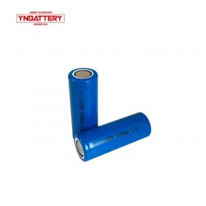 China Cylindrical lithium battery 3.7v 1600mAh 18500 high discharge battery cells power type for electric bike cars on sale