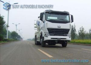 China HOWO A7 Concrete Mixer Truck 336Hp 7M3 Mixing Volume 10 Wheelers ZF Reducer on sale