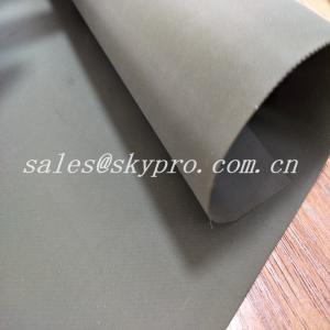 China Custom Wear Resistant Hypalon Rubber Sheet Neoprene Fabric Roll , Hardness 68±5 on sale