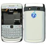 Vivienda blanca del OEM Sistema-QWERTY para el Blackberry Bold 9780