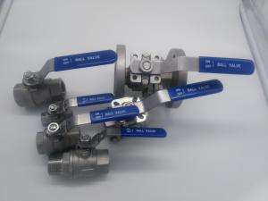 China 2pc ball valve ss 304,ss316 on sale