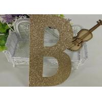 Birthday Party Decorations Kids Glitter Paper Letters Paper Cutting Alphabet