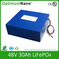 48V, 30Ah Lifepo4 Rechargeable Battery for E-cars, E-scooters