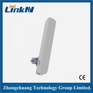 China 6.5W 5Ghz Wireless Outdoor CPE , Wireless AP CPE 18dBi High Gain on sale