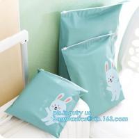 Clear poly leakproof plastic slider zipper bags for packaging, slider zipper lock bag, Plastic Slider Top Zipper Bag