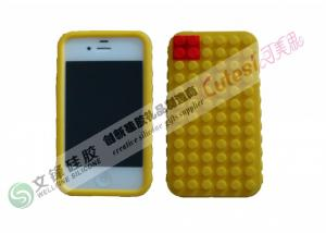 China FDA , LFGB Round Dot iPhone 4 Silicone Cases Customized Logo Can be Taken on sale