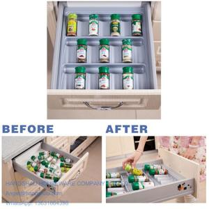 China 400-600mm DIY spice jar insert cabinet tray on sale