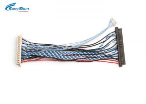 China 1.25mm Picth Connector LVDS Cable Assembly Automotive Computer Wiring Harness on sale