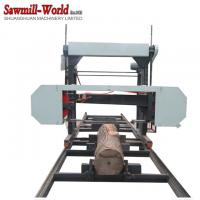 China Long Wood Cutting Portable Sawmill Horizontal Band Saw Sawmill MJ700 MJ1000 MJ1300 MJ1600 on sale