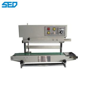 China Continous Plastic Bag Sealing Machine , Automatic Packaging Machine Strong Sealing Seam on sale