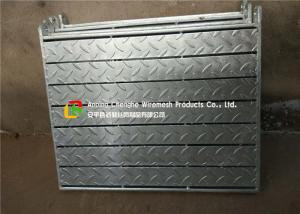 China Hot Dipped Galvanized Steel Bar Grating With 3mm Thinkness Chequer Plate on sale