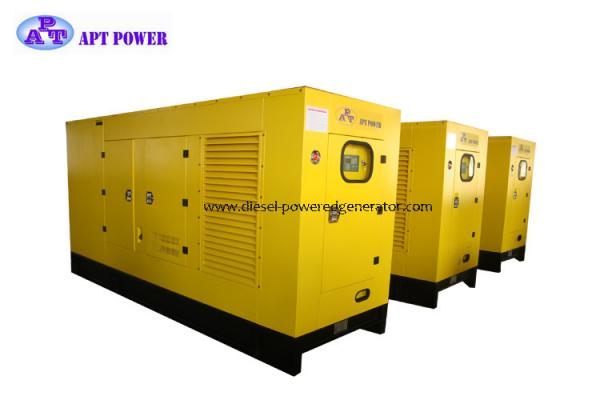 Lovol Emergency Diesel Generator Set 380/220V 50Hz Turbine