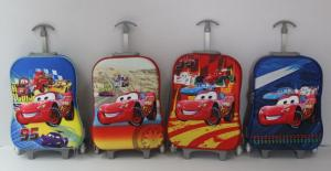 China Disney Pixar McQueen Cars Trolley School Canvas Red Lunch Bag Pencil Case set on sale