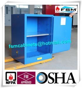 China Flammable Corrosive Storage Cabinets , Paint Storage Lockers For Laboratory on sale