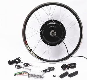 China 48v 1000w Electric Mountain Bike Conversion Kit Front Or Rear Wheel With Disc Brakes on sale