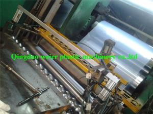 China Transparent PVC Corrugated Roofing Sheet Making Machine With Three Roller Calender on sale