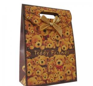 China CMYK / Pantone Printing Personalized Gift Bags Glossy / Matt Lamination on sale