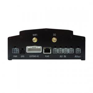 China 1 / 4 CH SD Card Hard Disk WiFi / 3G Mobile DVR Digital Video Recorder For Bus / Car on sale