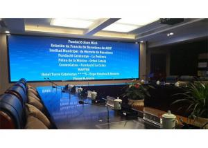China 4K HD Small Pitch Indoor Fixed LED Display P1.25 P1.56 Video TV Wall For Meeting Room on sale