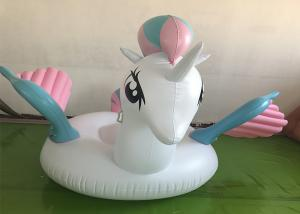 China Factory wholesale swimming pool floating mat inflatable float unicorn on sale