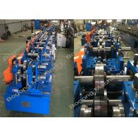 Automatic Type Change Metal Z Purlin Making Machine High Performance