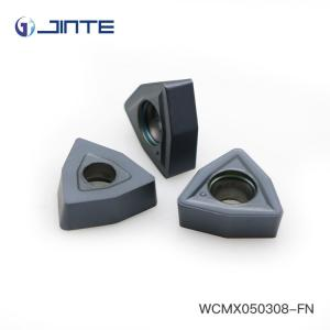 China WCMX050308 Carbide Drill Inserts CNC Indexable Milling Cutter PVD Coating on sale