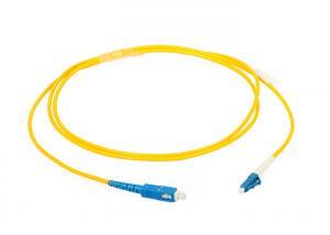 China Optical LC SC Patch Cord Singlemode 1310 - 1550nm LSZH / PVC Jacket on sale